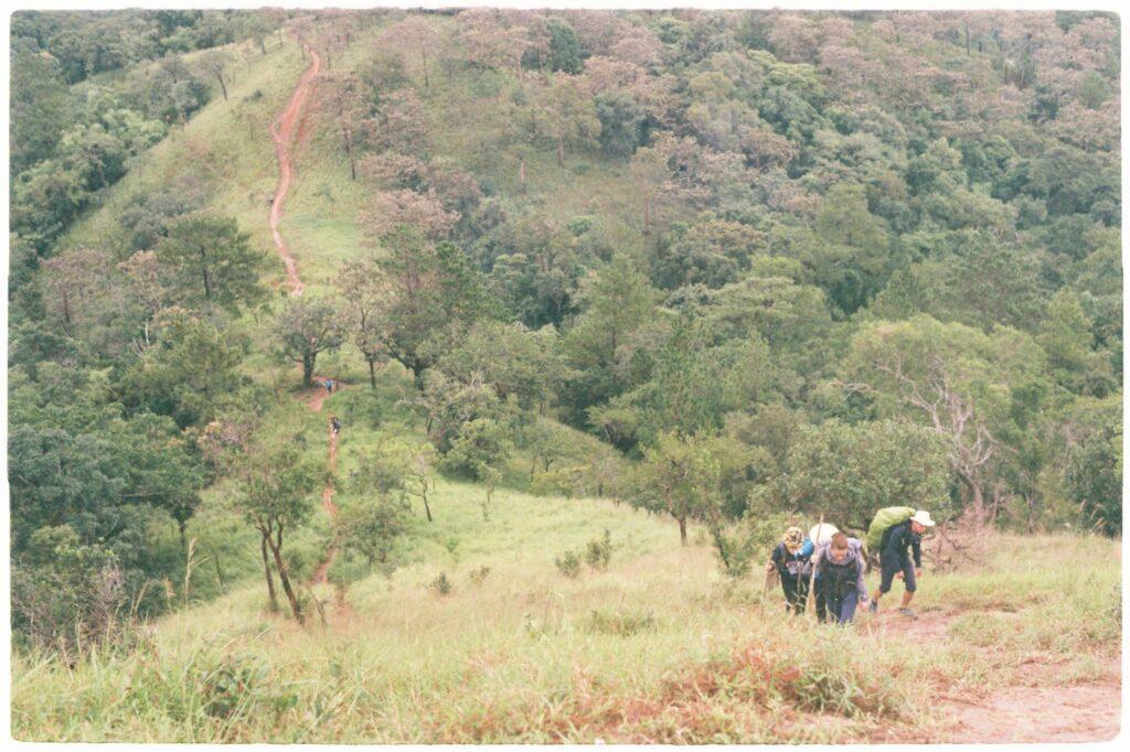Chinh phục cung trekking Tà Năng - Phan Dũng