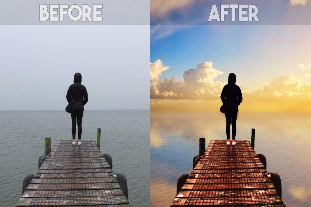 Bức ảnh trở nên sinh động hơn rất nhiều sau khi chỉnh sửa qua Picsart