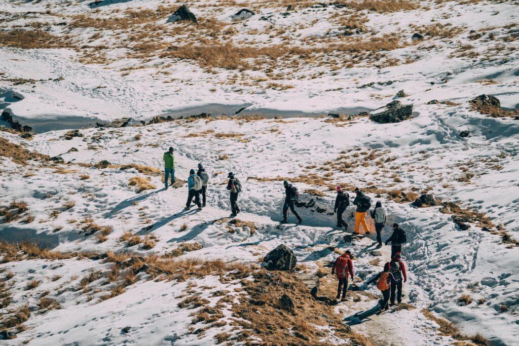 Trải nghiệm cảm giác được bao bọc bởi tuyết - khám phá Annapurna