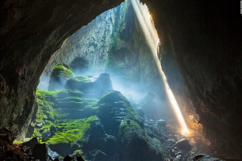 Sự kỳ diệu của thiên nhiên nơi động Phong Nha - Kẻ Bàng Nguồn: Phong Nha Explorer